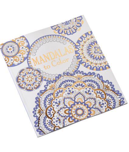 Usborne Mandalas Colouring Book