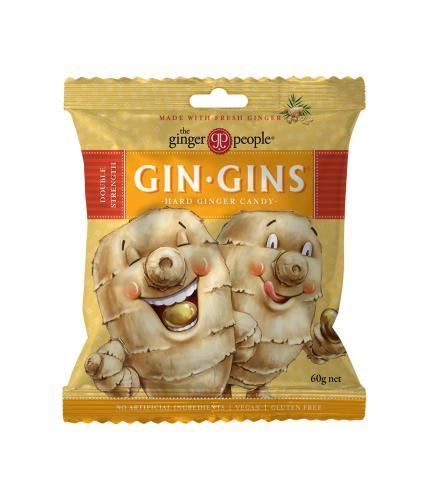 Gin Gin's Double Strength Hard Candy Bag