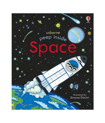 Usborne Peep Inside Space Book