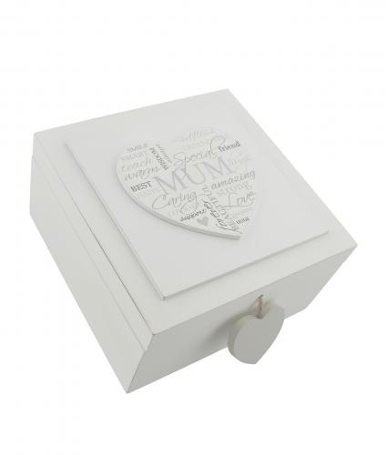 Mum Keepsake Box, Mother's Day Gift, Cancer Research UK