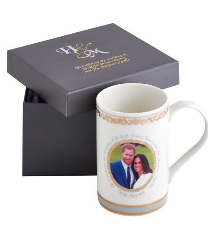 Harry and Meghan Royal Wedding China Mug
