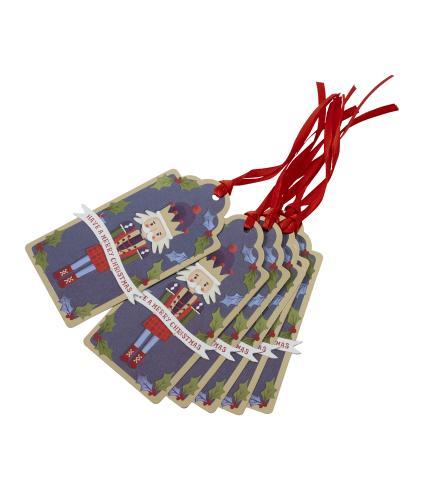 Tom Smith 6 The Nutcracker Gift Tags