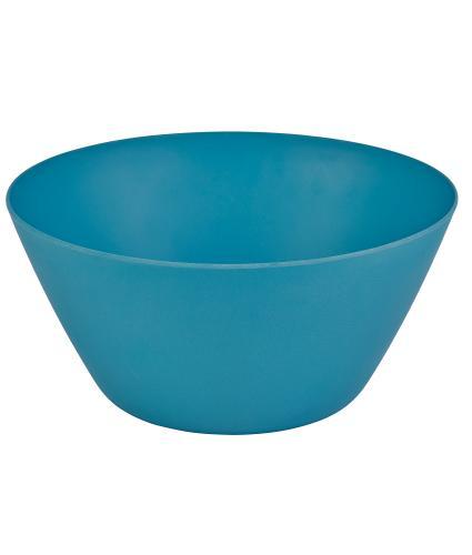 Blue Bamboo Salad Bowl