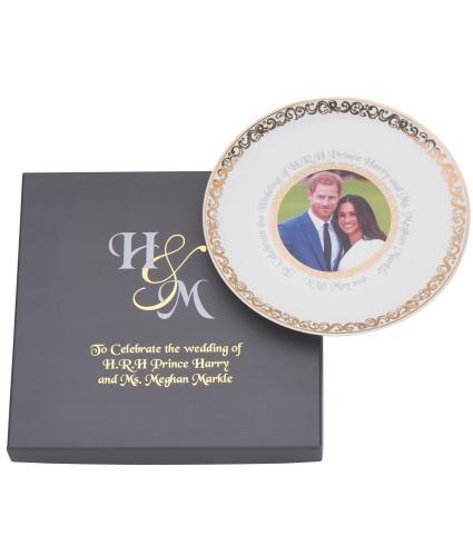 Harry and Meghan Royal Wedding China Plate