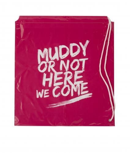 Pretty Muddy Drawstring Bag