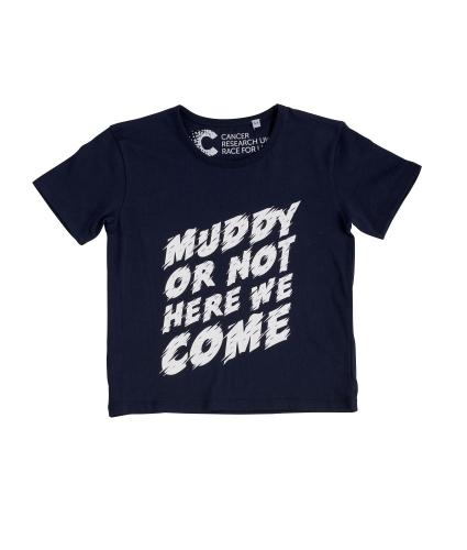 Pretty Muddy Kids Front Tee