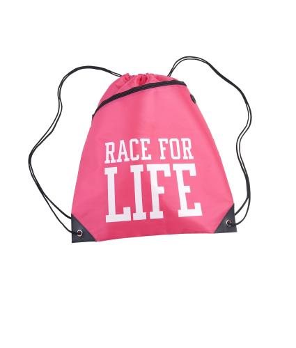 Race for Life 2019 Drawstring Bag