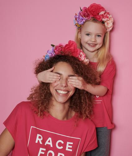 Race for Life Floral Headband