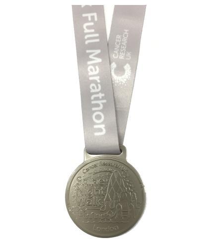 Shine Night Walk 2020 Medal - Marathon