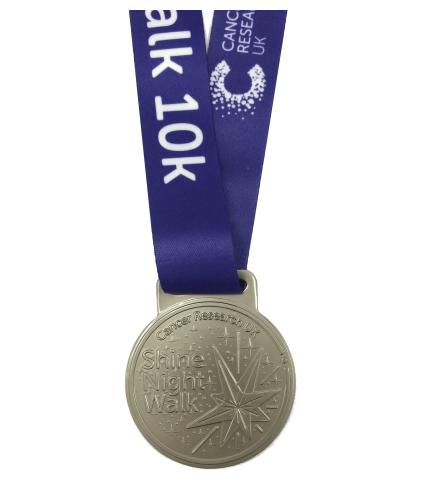 Shine Night Walk 2020 Medal - 10k (Regional)