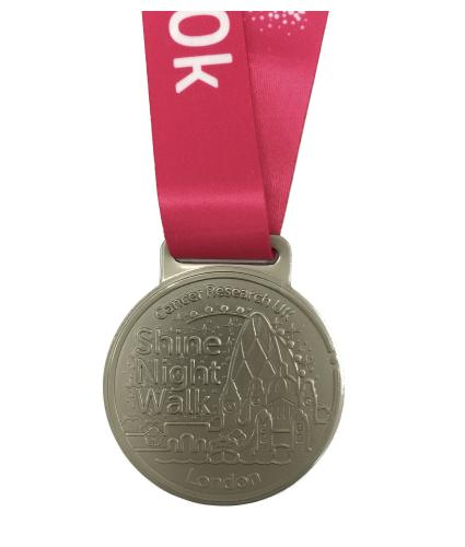 Shine Night Walk 2020 Medal - 10k London
