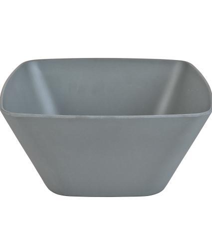 Grey Bamboo Salad Bowl