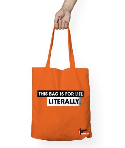 Stand Up To Cancer Saving Lives Bag