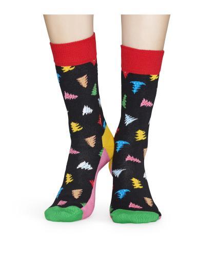 Happy Socks Trees and Trees Christmas Socks