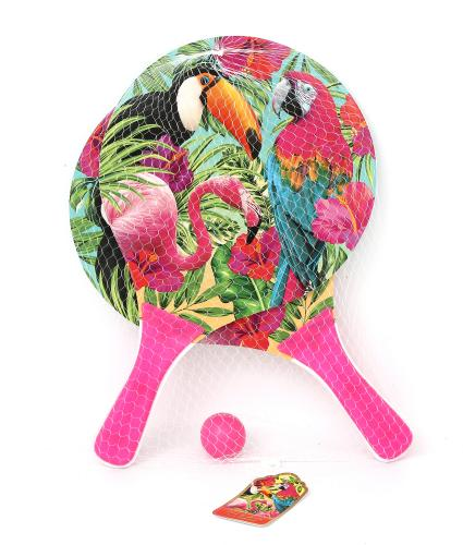 Tropical Bat & Ball Set