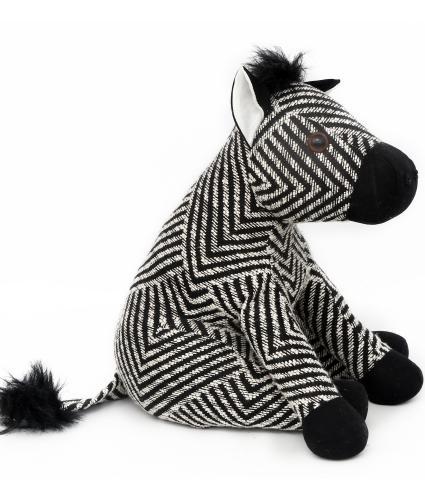 Zebra Doorstop