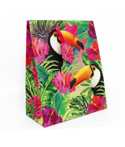 Tropical Large Toucan Gift Bag
