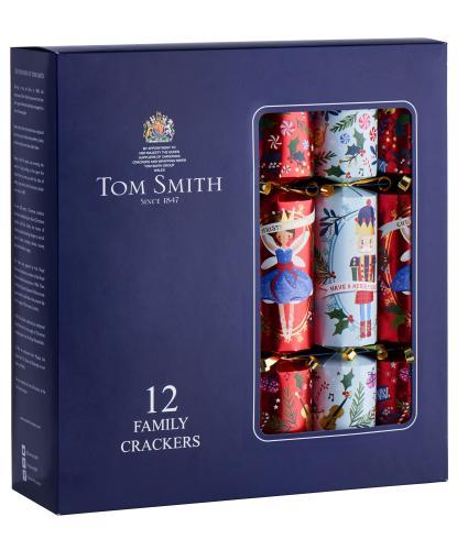 Tom Smith 12 The Nutcracker Classic Christmas Crackers