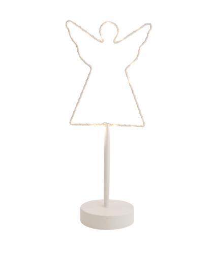 White LED Metal Angel Light