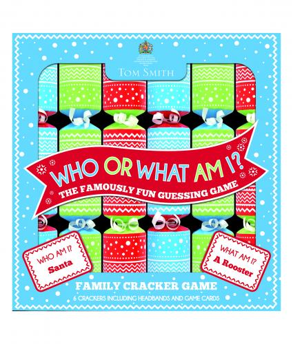 Who or What Am I Crackers Cancer Research uk Christmas Crackers