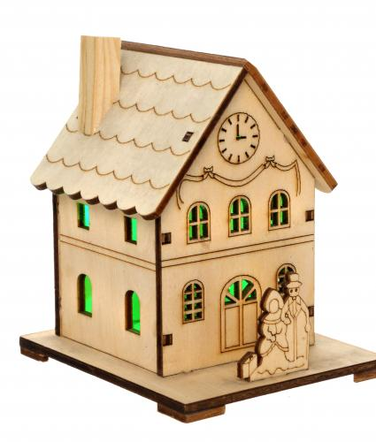 mini led house cancer research uk christmas gift