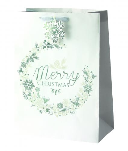 Ice Sparkle Large Bag Cancer Research uk Christmas Bag