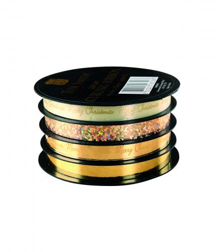 Luxury Ribbon Spools - Gold Cancer Research uk Accessories