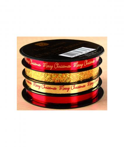 Luxury Ribbon Spools - Red & Gold
