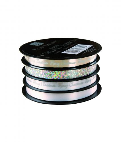 Luxury Ribbon Spools - Silver Cancer Research uk accessories