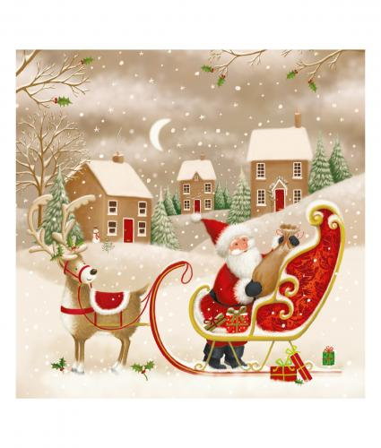 ready to fly cancer research uk christmas card