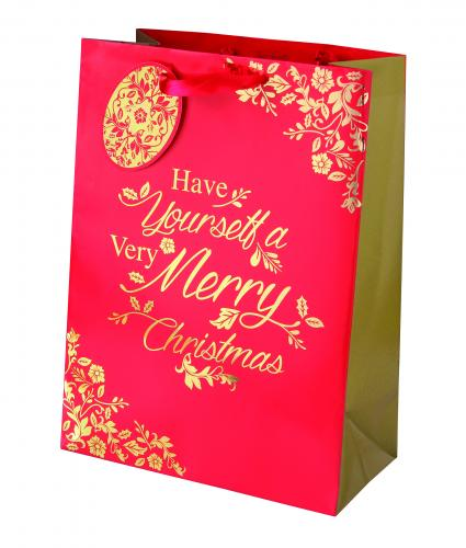 Rich Traditions Large Bag Cancer Reseach uk Christmas Bag