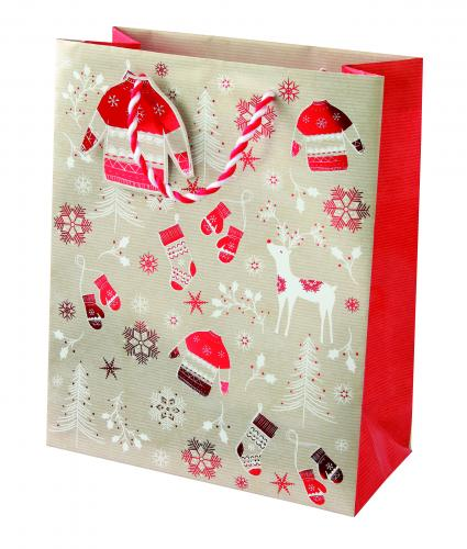 Scandinavian Medium Bag Cancer Research uk Christmas Bag