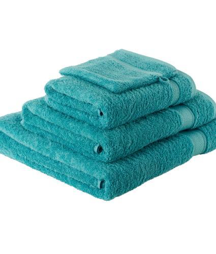 4 Piece Teal Towels
