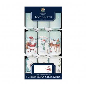 Tom Smith 6 Magical Santa Dinner Cube Christmas Crackers