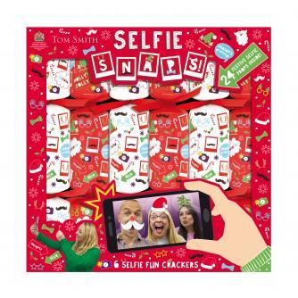 Tom Smith 6 Selfie Snaps Christmas Crackers