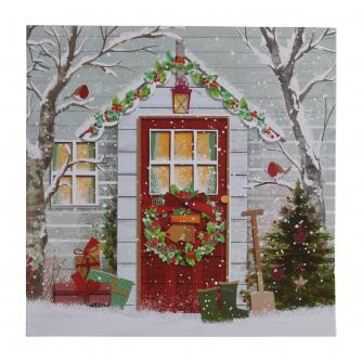 The Winter House Christmas Cards - Pack of 10