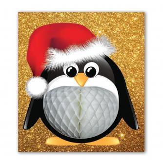 Pulp Pop Up Penguin Christmas Card