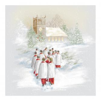 Choir Boys Christmas Cards - Pack of 10