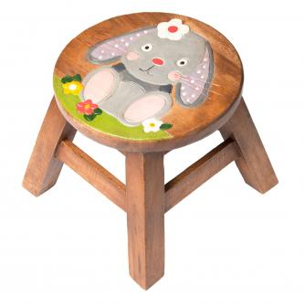 Bunny Wooden Stool