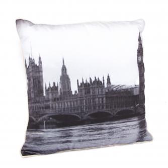 London Skyline Cushion, Cancer Research UK