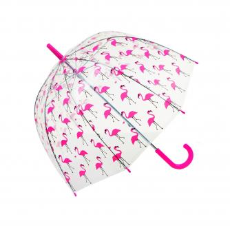 Flamingo Dome Umbrella, Umbrella, Home & Accessories, Cancer Research UK