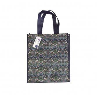 William Morris Strawberry Thief Shopping Bag