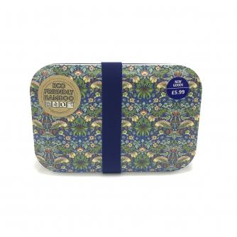 William Morris Strawberry Thief Bamboo Lunchbox