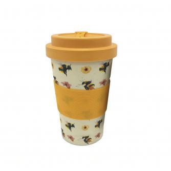 Bumblebee Reusable Bamboo Cup