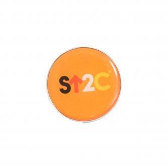 Stand Up To Cancer Short Logo Pin Badge