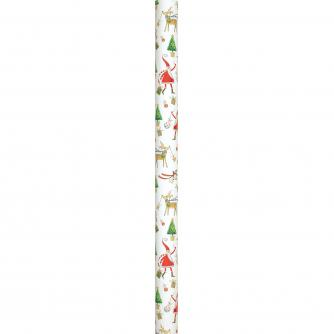 4m Whimsical Rolled Gift Wrap