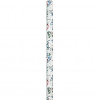 4m Contemporary Foliage Rolled Gift Wrap