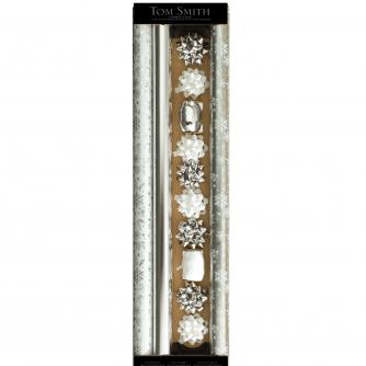Ice Sparkle Gift Wrap and Accessories Pack