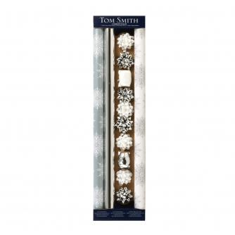 Tom Smith Ice Sparkle Gift Wrap Pack