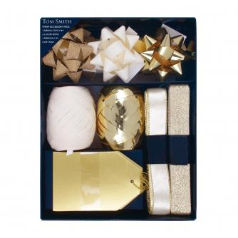 Gold & Cream Wrap Accessory Pack